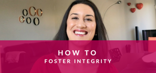 how to foster integrity in the workplace